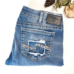 33x33 Tuesday Silver Jeans